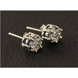 Simply Sparkling Epic Diamond Earrings