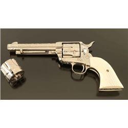 *Dennis Kies Engraved Colt SAA .38 Spl/.357