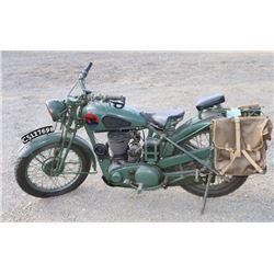 BSA M20 Artillery Motorcycle