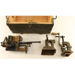 Early Brass Vickers Loading Machine