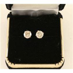 Sparkling Diamond 1/2 ct Stud earrings