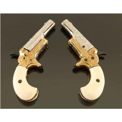*Philip Quigley Engraved Colt Derringer Set