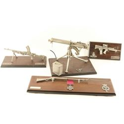 Lifetime collection of Pewter Miniature Guns