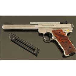 Ruger Mark III Target .22 LR SN: 274-02225