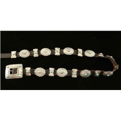 Ladies Navajo Concho Belt