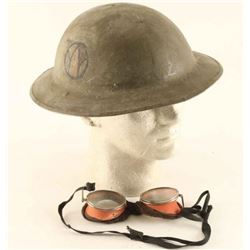 WWI M17 Combat Helmet