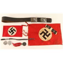 WWII Original German Military Bonanza Lot