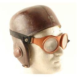 Flight Helmet & Goggles