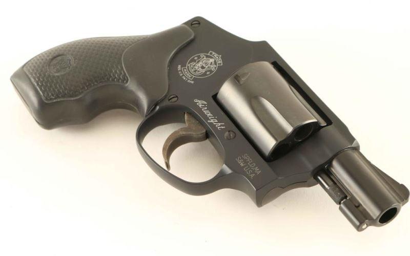Smith & Wesson 442-1  38 Spl SN: CPZ8951