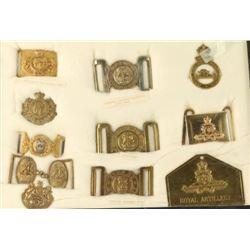 British Belt Plates