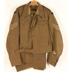 British Royal Artillery Sargent Uniform