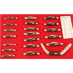 Lot of Case Knives