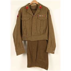 British Royal Artillery Uniform