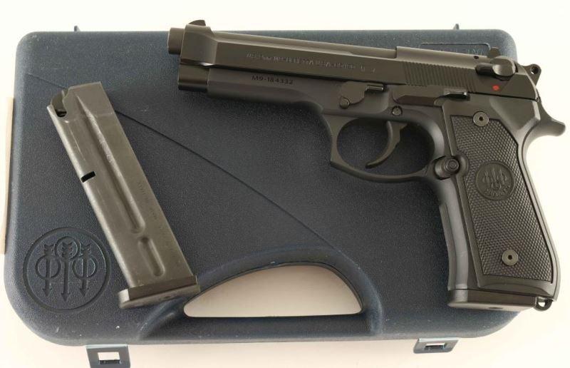 Beretta M9 9mm SN: M9-184332