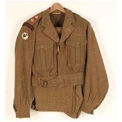 Lieutenant Royal British Artillery Uniform.