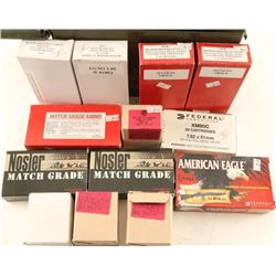Lot of Mixed 308 Win Ammo New & Factory Reloads