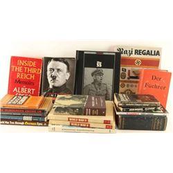 Lot of WWII Nazi Books