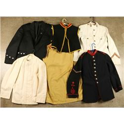 Lot of British Uniforms