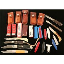 Lot of Pocket Knives