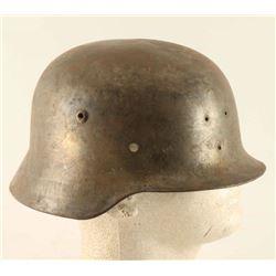 German WWII M35 Combat Helmet