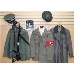 Lot of Repro German WWII Uniforms