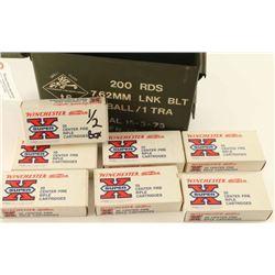 Lot of 22-250 Remington Ammo