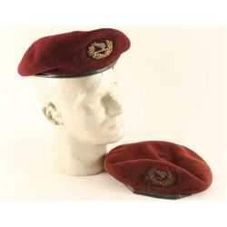 Lot of 2 Vietnam Berets