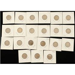 Lot of Buffalo Nickels