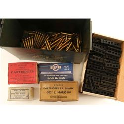 Lot of .303 Brit Ammo Lot