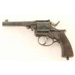 Belgian Nagant-Style Revolver 11mm NVSN