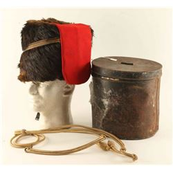 Original British Foot Artillery Busby Hat