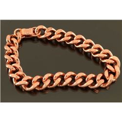 Heavy Gauge Copper Link Bracelet
