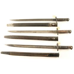 Lot of 3 Wilkinson Bayonets