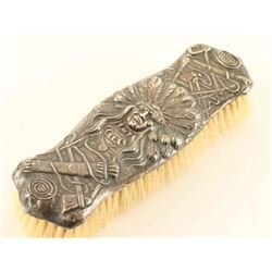 Antique Sterling Silver Clothing Brush