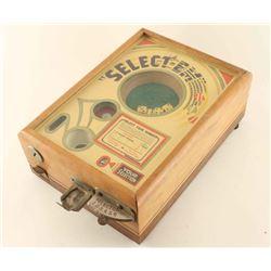 Antique Select-Em Dice Game