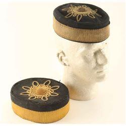 (2) Victorian Artillery Volunteers Pillbox hat