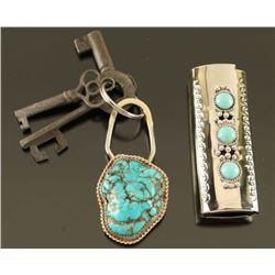 Miscellaneous Turquoise & Sterling Lot