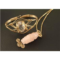Artisan Made Necklace and Bracelet