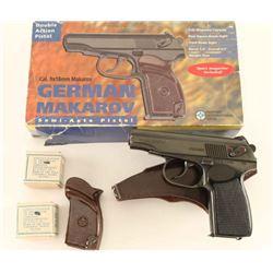 East German K100 Makarov 9x18 SN: FA5099