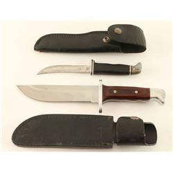 Lot of 2 Buck Knives