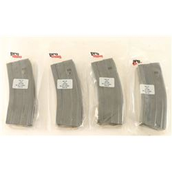 Lot of (4) AR-15 Mags