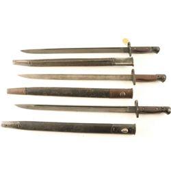 Lot of (3)Bayonets