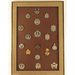 Framed Emblems of Scottish Highlanders Canada