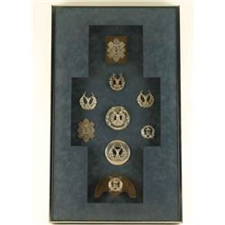 Framed Scottish Emblems