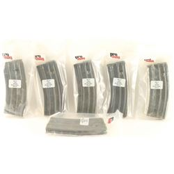Lot of 6 AR-15 Mag