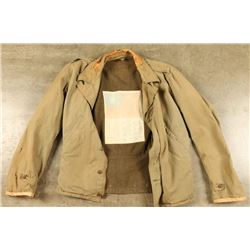 Wool Lined Military Jacket
