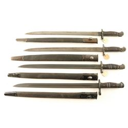 Lot of 4 Bayonets
