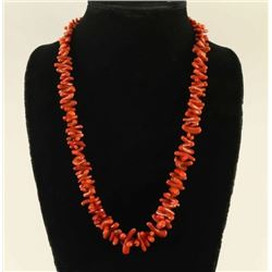 Mediterranean Branch Coral Necklace