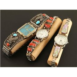 Lot of 3 Navajo Watches