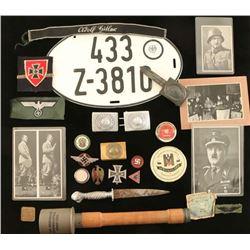 Lot of WWII Nazi Memorabilia